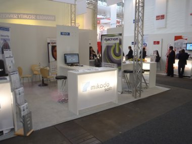 Messestand INVIDIS, Hannover, CeBIT