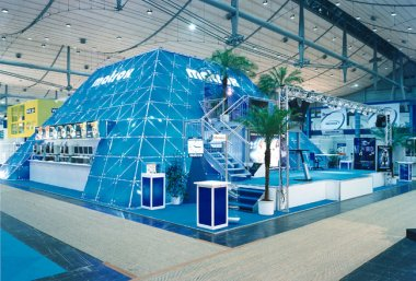 Messestand MATROX, Hannover, CeBIT